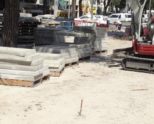 Peces grans dimensions per exteriors - polides, decapades de motllo | Mosaics Planas image 21