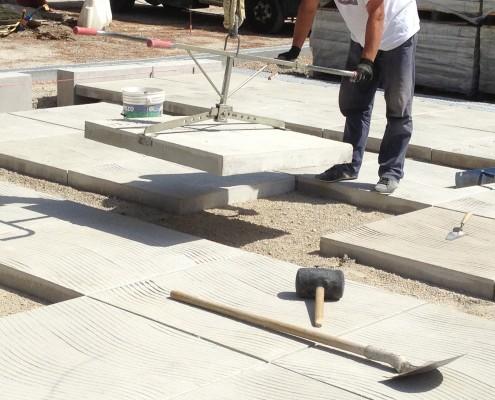 Peces grans dimensions per exteriors - polides, decapades de motllo | Mosaics Planas image 24
